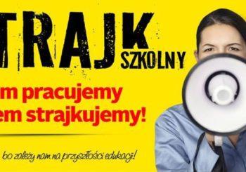 Ogólnopolski strajk pracowników oświaty.
